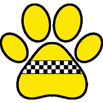 PAWZ Pet Taxi App Logo. PAWZ offers Pet Transportation and Delivery Service for Groomers, Dog Daycares, Veterinarians, and Busy Pet Owners.